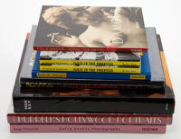 A GROUP OF EIGHT BOOKS OF EROTIC PHOTOGRAPHY AND 20TH CENTURY PORTRAITS