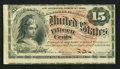 Fractional Currency:Fourth Issue, Fr. 1267 15¢ Fourth Issue Fine-Very Fine.. ...