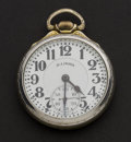 Timepieces:Pocket (post 1900), Illinois 21 Jewel Grade 161 A Elinvar Sixty Hour Bunn Special. ...