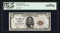 Small Size:Federal Reserve Bank Notes, Fr. 1850-J $5 1929 Federal Reserve Bank Note. PCGS New 62PPQ.. ...