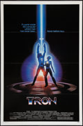 "Movie Posters:Science Fiction, Tron (Buena Vista, 1982). One Sheet (27"" X 41""). Flat Folded.Science Fiction.. ..."