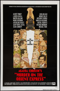 "Movie Posters:Mystery, Murder on the Orient Express (Paramount, 1974). One Sheet (27"" X41""). Style B. Flat Folded. Mystery.. ..."