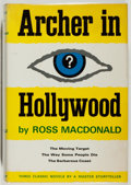 Books:Mystery & Detective Fiction, Ross Macdonald. SIGNED. Archer in Hollywood. New York:Knopf, 1967. First edition, first printing. Signed and ...