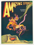 Pulps:Science Fiction, Amazing Stories V6#8 (Ziff-Davis, 1931) Condition: VF-....