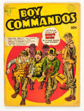 Golden Age (1938-1955):War, Boy Commandos #2 (DC, 1943) Condition: GD/VG....