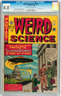 Golden Age (1938-1955):Science Fiction, Weird Science #13 (#2) (EC, 1950) CGC VF 8.0 Cream to off-whitepages....