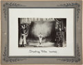 Entertainment Collectibles:Theatre, Sharpshooter Mounted Photograph, Circa 1914....