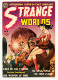Golden Age (1938-1955):Science Fiction, Strange Worlds #2 (Avon, 1951) Condition: FN-....