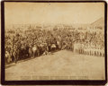 Photography:Cabinet Photos, Indian Census at Standing Rock: Imperial Cabinet Card. ...