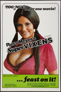 "Movie Posters:Sexploitation, Supervixens (RM Films, 1975). One Sheet (27"" X 41""). Flat Folded. XRated Version. Sexploitation.. ..."