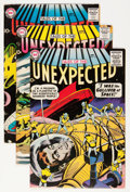 Silver Age (1956-1969):Horror, Tales of the Unexpected Group (DC, 1958-59).... (Total: 5 ComicBooks)