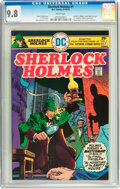 Bronze Age (1970-1979):Miscellaneous, Sherlock Holmes #1 (DC, 1975) CGC NM/MT 9.8 White pages....