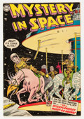 Golden Age (1938-1955):Science Fiction, Mystery in Space #21 Bethlehem pedigree (DC, 1954) Condition:FN/VF....