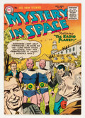 Golden Age (1938-1955):Science Fiction, Mystery in Space #28 (DC, 1955) Condition: VF....