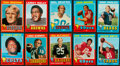 Football Cards:Sets, 1971 Topps Partial Set (169) With Bradshaw Rookie. ...