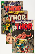Golden Age (1938-1955):Horror, Journey Into Mystery #121-124 Group (Marvel, 1965-66) Condition:Average FN/VF.... (Total: 1965 )