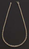 Estate Jewelry:Necklaces, Diamond Necklace . ...