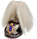 Military & Patriotic:WWI, Swedish officers' Spiked Helmet With Horsehair Plume, Circa1900....