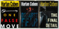 Books:Mystery & Detective Fiction, Harlan Coben. SIGNED. Three Signed Myron Bolitar Mysteries, including: One False Move; The Final Detail; Darkest Fear. ... (Total: 3 Items)