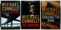 Books:Mystery & Detective Fiction, Michael Connelly. SIGNED. Three Signed or Inscribed Mysteries,including: Chasing the Dime; The Narrows; The Closers. ...(Total: 3 Items)