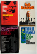Books:Mystery & Detective Fiction, Ross Macdonald. Three Ross Macdonald Novels and a Biography of Him,including: Archer at Large; The Blue Hammer; Ross Ma... (Total:4 Items)