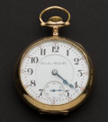 Timepieces:Pocket (post 1900), Hamilton 23 Jewel 946 - 18 Size Hunter's Case Pocket Watch. ...