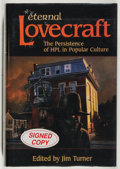 Books:Horror & Supernatural, [Jerry Weist]. [H. P. Lovecraft, subject]. SIGNED. [Jim Turner, editor]. Eternal Lovecraft. The Persis...