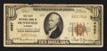 National Bank Notes:Alabama, Huntsville, AL - $10 1929 Ty. 1 The First NB Ch. # 4067. ...