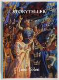 Books:Science Fiction & Fantasy, [Jerry Weist]. Jane Yolen. SIGNED/LIMITED. Storyteller. Cambridge: NESFA, 1992. First edition, one of 200 copies i...