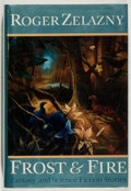 Books:Science Fiction & Fantasy, [Jerry Weist]. Roger Zelazny. SIGNED. Frost and Fire. New York: Morrow, [1989]. First edition. Signed by the a...