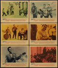 "Movie Posters:Rock and Roll, Jamboree (Warner Brothers, 1957). Lobby Cards (6) (11"" X 14"") &Photo (8"" X 10""). Rock and Roll.. ... (Total: 7 Items)"