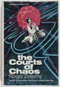 Books:Science Fiction & Fantasy, [Jerry Weist]. Roger Zelazny. The Courts of Chaos. Garden City: Doubleday, 1978. First edition, review copy. Publish...