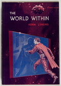 Books:Science Fiction & Fantasy, [Jerry Weist]. Adam Lukens. The World Within. New York: Avalon, [1962]. First edition. Publisher's binding, dust...