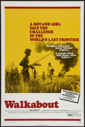 "Movie Posters:Adventure, Walkabout (20th Century Fox, 1971). One Sheet (27"" X 41""). Style B.Adventure.. ..."