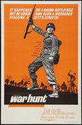 "Movie Posters:War, War Hunt (United Artists, 1962). One Sheet (27"" X 41""). War.. ..."