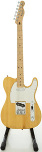 Musical Instruments:Electric Guitars, Recent Fender Telecaster/Partscaster Copy Natural Solid BodyElectric Guitar. ...