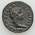 Ancients:Roman Imperial, Ancients: Nero (AD 54-68). Æ as (27mm, 10.84 gm, 6h). ...