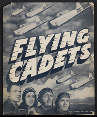 "Flying Cadets (Universal, 1941). Pressbook (11.5"" X 14"", 8 Pages). Adventure"