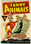 Golden Age (1938-1955):Funny Animal, Funny Animals #6 (Fawcett, 1943) Condition: VF....