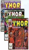 Modern Age (1980-Present):Superhero, Thor Long Box Group (Marvel, 1982-96) Condition: Average VF/NM....
