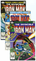 Modern Age (1980-Present):Superhero, Iron Man Long Box Group (Marvel, 1982-96) Condition: AverageVF/NM....