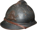 Military & Patriotic:WWI, WWI French Model 1915 Adrian Artillery Helmet....