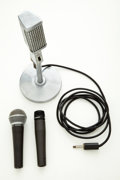 Musical Instruments:Amplifiers, PA, & Effects, Shure/Lafayette Microphone Lot of 3....