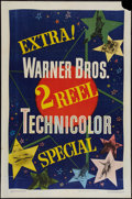 "Movie Posters:Short Subject, Warner Brothers Two-Reel Stock (Warner Brothers, 1948). One Sheet(27"" X 41""). Short Subject.. ..."
