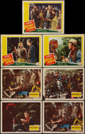 "Movie Posters:Western, Broken Arrow (20th Century Fox, 1950 and R-1953). Lobby Cards (7) (11"" X 14""). Western.. ... (Total: 7 Items)"