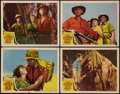 "Movie Posters:Adventure, King Solomon's Mines (MGM, 1950). Lobby Cards (4) (11"" X 14"").Adventure.. ... (Total: 4 Items)"