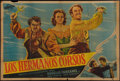 "Movie Posters:Adventure, The Corsican Brothers (TransOcean, R-1950). Argentinean Poster (29""X 43""). Adventure.. ..."