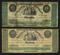Obsoletes By State:New Jersey, Newark, NJ- City of Newark 10¢; 15¢ Nov. 1, 1862. ... (Total: 2 notes)