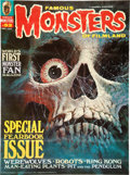 Memorabilia:Poster, Famous Monsters of Filmland #93 Poster (Warren, 1972)....