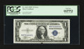 Error Notes:Ink Smears, Fr. 1612 $1 1935C Silver Certificate. PCGS Gem New 66PPQ.. ...